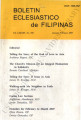 Boletin Eclesiastico de Filipinas ; Volume 83, number 858 (January-February 2007)
