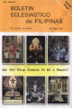 Boletin Eclesiastico de Filipinas ; Volume 83, numbers 860-861 (May-August 2007)