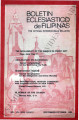Boletin Eclesiastico de Filipinas ; Volume 54, numbers 610-611 (September-October 1980)