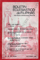 Boletin Eclesiastico de Filipinas ; Volume 54, numbers 608-609 (July-August 1980)