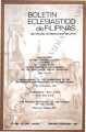 Boletin Eclesiastico de Filipinas ; Volume 56, numbers 626-627 (January-February 1982)