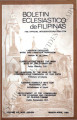 Boletin Eclesiastico de Filipinas ; Volume 56, numbers 628-629 (March-April 1982)