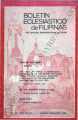 Boletin Eclesiastico de Filipinas ; Volume 54, numbers 602-603 (January-February 1980)
