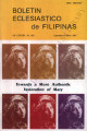 Boletin Eclesiastico de Filipinas ; Volume 83, numbers 862 (September- October 2007)