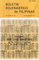 Boletin Eclesiastico de Filipinas ; Volume 83, numbers 863 (November-December 2007)