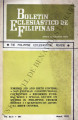 Boletin Eclesiastico de Filipinas ; Volume 44, number 491 (March 1970)