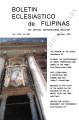 Boletín Eclesiástico de Filipinas ; Volume 80 , number 842 (May-June 2004)