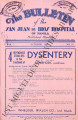 The Bulletin of the San Juan de Dios Hospital of Manila ; Volume 7, number 10 (October 1933)