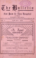 The Bulletin of the San Juan de Dios Hospital of Manila ; Volume 4, number 1 (January 1930)