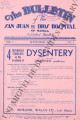 The Bulletin of the San Juan de Dios Hospital of Manila ; Volume 7, number 9 (September 1933)