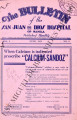 The Bulletin of the San Juan de Dios Hospital of Manila ; Volume 8, number 6 (June 1934)