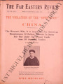 The Far Eastern Review ; Volume 8, number 3 ( August 1911)