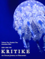 Kritike : An Online Journal of Philosophy  ; volume  10, number 0002 (December 2016)