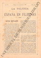 La Política de España en Filipinas ; Volume 7, number 155 (February 15, 1897)
