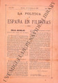 La Política de España en Filipinas ; Volume 8, number 179 (February 15, 1898)