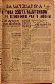 La Vanguardia ; Año 34, numero 0304 (January 26, 1944)