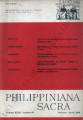 Philippiniana Sacra ; Volume 23, number 0067 (January - April 1988)