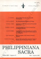 Philippiniana Sacra ; Volume 26, number 0077 (May - August 1991)