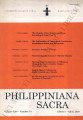 Philippiniana Sacra ; Volume 25, number 0073 (January - April 1990)