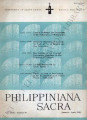 Philippiniana Sacra ; Volume 24, number 0070 (January - April 1989)