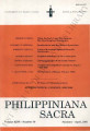 Philippiniana Sacra ; Volume 26, number 0076 (January - April 1991)