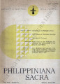 Philippiniana Sacra ; Volume 21, number 0061 (January - April 1986)