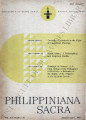 Philippiniana Sacra ; Volume 20, number 0058 (January - April 1985)