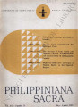Philippiniana Sacra ; Volume 20, number 0059 (May - August 1985)