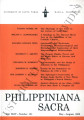 Philippiniana Sacra ; Volume 44, number 0132 (May- August 2009)