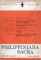 Philippiniana Sacra ; Volume 27, number 0079 (January - April 1992)