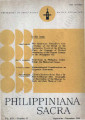Philippiniana Sacra ; Volume 19, number 0057 (September - December 1984)