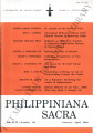 Philippiniana Sacra ; Volume 44, number 0130 (January - April 2009)