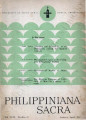 Philippiniana Sacra ; Volume 18, number 0052 (January - April 1983)