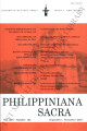 Philippiniana Sacra ; Volume 45, number 0135 (September - December 2010)