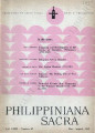 Philippiniana Sacra ; Volume 18, number 0053 (May - August 1983)