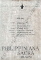 Philippiniana Sacra ; Volume 02, number 0004 (January - April 1967)