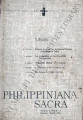 Philippiniana Sacra ; Volume 01, number 0001 (January - April 1966)