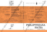 Philippiniana Sacra ; Volume 46, number 0138 (September - December 2011)