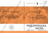 Philippiniana Sacra ; Volume 48, number 0145 (September-December 2013)