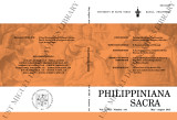 Philippiniana Sacra ; Volume 48, number 0144 (May-August 2013)