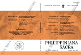 Philippiniana Sacra ; Volume 48, number 0143(January-April 2013)