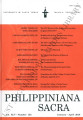 Philippiniana Sacra ; Volume 45, number 0133 (January - April 2010)