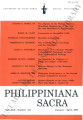 Philippiniana Sacra ; Volume 42, number 0124 (January - April 2007)
