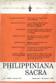 Philippiniana Sacra ; Volume 32, number 0096 (September - December 1997)