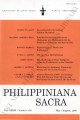 Philippiniana Sacra ; Volume 34, number 0101 (May - August 1999)