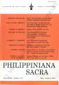 Philippiniana Sacra ; Volume 39, number 0116 (May - August 2004)
