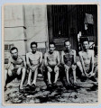 Group of internees, UST Internment Camp
