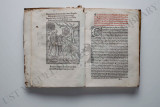 "Inside pages of the book ""Doctrinale Mortis"""