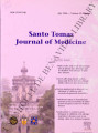 Santo Tomas Journal of Medicine (formerly 'The UST Journal of Medicine') ; Volume 52, number 1...