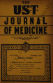 The UST Journal of Medicine ; Volume 1, number 2 (November 1940)